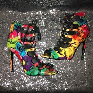 Steve Madden Shoes - Steve Madden   Cynthiaa Floral Heels